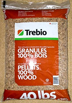 Trebio Wood Pellet Fuel