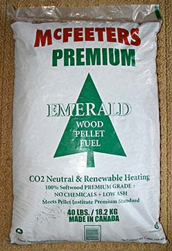McFeeters Premium Wood Pellets